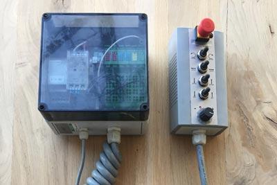 Télécommande à distance de la pailleuse Warzée DE551